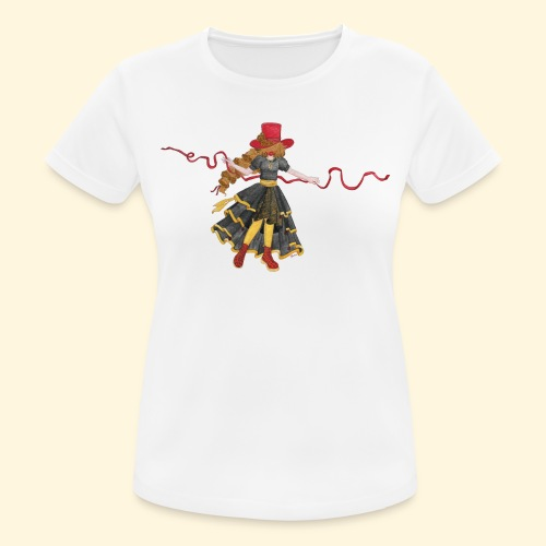 Ladybird - La célèbre uchronaute - T-shirt respirant Femme