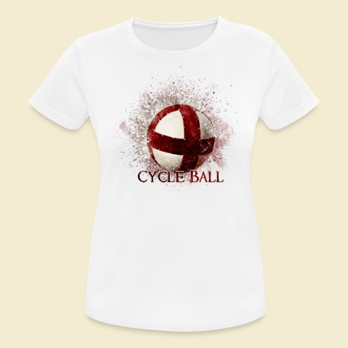 Radball | Cycle Ball - Frauen T-Shirt atmungsaktiv