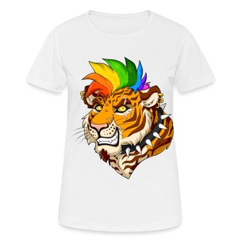 Punk Tiger - Koszulka damska oddychająca