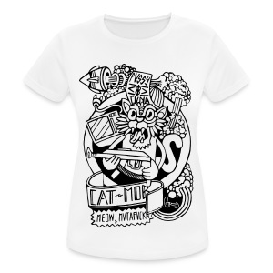#CATMOB: Meow, mutafucka! (Outline) - Camiseta mujer transpirable
