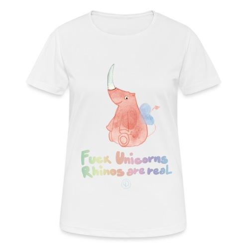 F*** Unicorns - Maglietta da donna traspirante