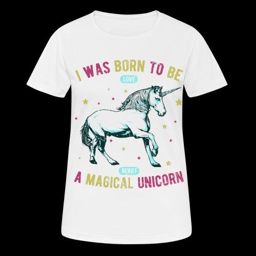 Magical Unicorn - Frauen T-Shirt atmungsaktiv