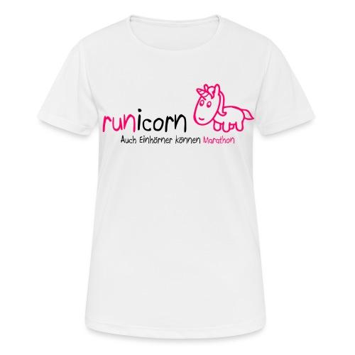 runicorn Logo PNG - Frauen T-Shirt atmungsaktiv