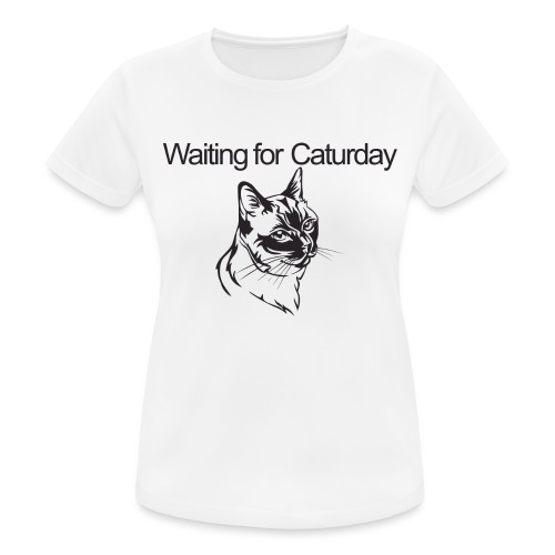 Caturday - Women's Breathable T-Shirt