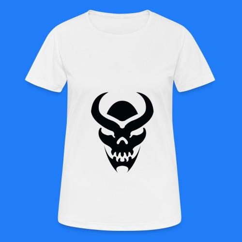 TRIBAL SKULL NOIR - T-shirt respirant Femme