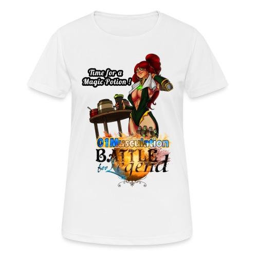 Mythrilisatrice- Battle for Legend X 01Musculation - T-shirt respirant Femme