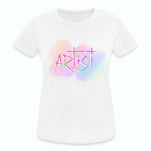 Artist in Colors - Camiseta mujer transpirable
