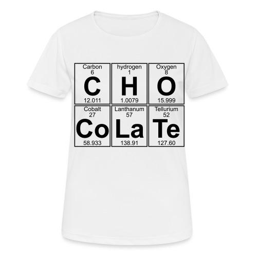C-H-O-Co-La-Te (chocolate) - Full - Women's Breathable T-Shirt