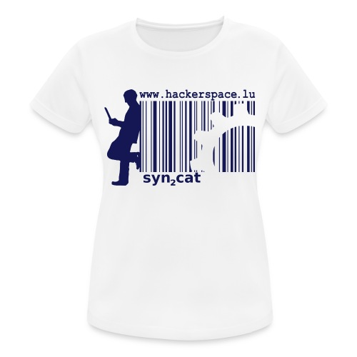 syn2cat hackerspace - Women's Breathable T-Shirt
