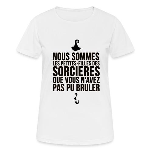 filles de sorcières - T-shirt respirant Femme