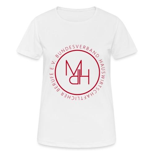 MdH-Siegel - Frauen T-Shirt atmungsaktiv