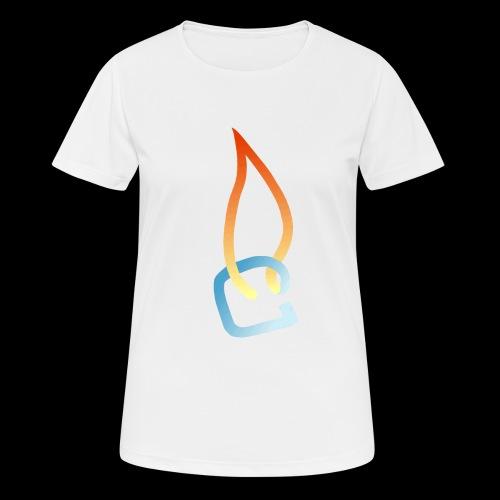 Eisheiss Bandlogo - Frauen T-Shirt atmungsaktiv