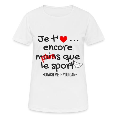 Saint Valentin - T-shirt respirant Femme