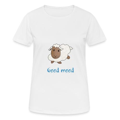 Nadège le petit mouton blanc - T-shirt respirant Femme