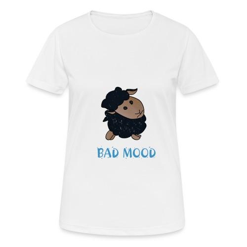 Badmood - Gaspard le petit mouton noir - T-shirt respirant Femme