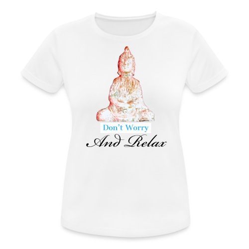 Buddha - Vrouwen T-shirt ademend actief