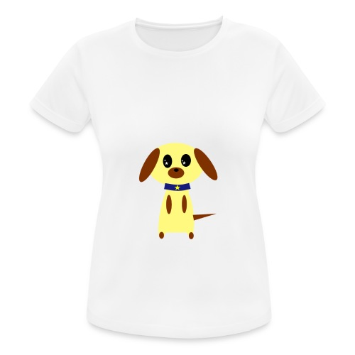 Dog Cute - Frauen T-Shirt atmungsaktiv