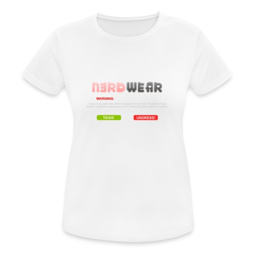 N3RD WEAR - Explicit - Frauen T-Shirt atmungsaktiv