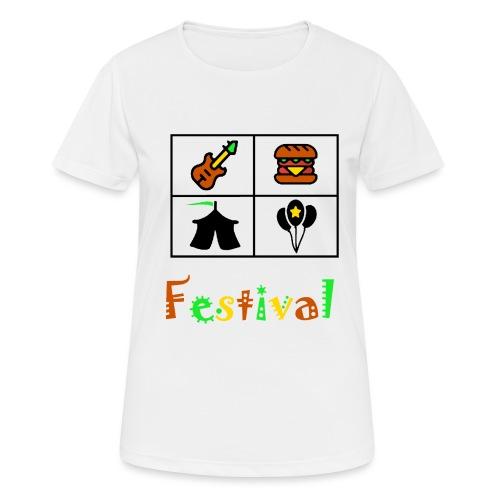 Festival Saison - Frauen T-Shirt atmungsaktiv
