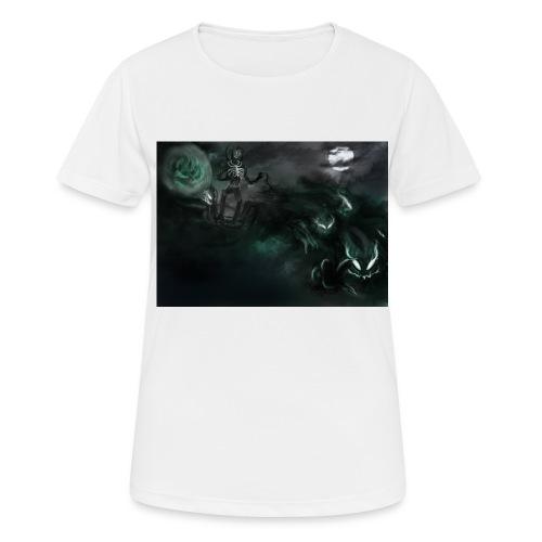 dark santa - T-shirt respirant Femme