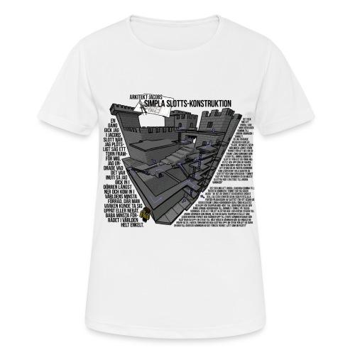 Jacobs Slott - Andningsaktiv T-shirt dam