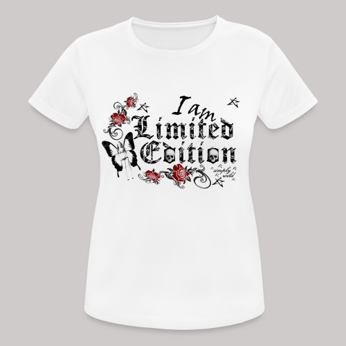simply wild limited Edition on white - Frauen T-Shirt atmungsaktiv