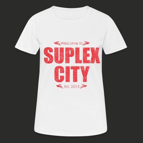 Suplex City Mens T-Shirt - Women's Breathable T-Shirt