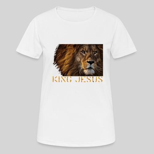 König Jesus der Löwe von Juda - Frauen T-Shirt atmungsaktiv