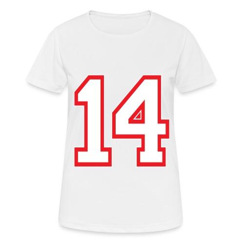 DANNIEB 14 - Maglietta da donna traspirante