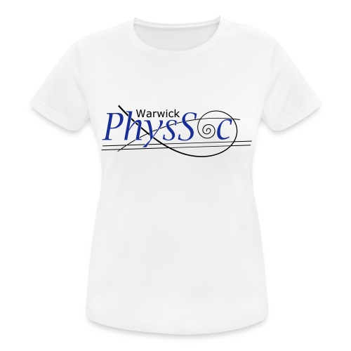 Official Warwick PhysSoc T Shirt - Women's Breathable T-Shirt