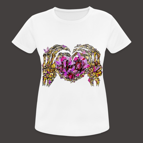 L amour Cristallin Creepy - T-shirt respirant Femme