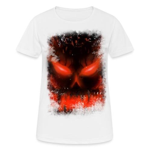 demon skull - T-shirt respirant Femme