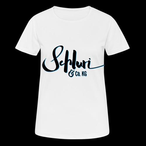 Schluri - Frauen T-Shirt atmungsaktiv
