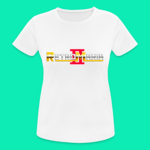 Retro Mania II - Logo - Frauen T-Shirt atmungsaktiv