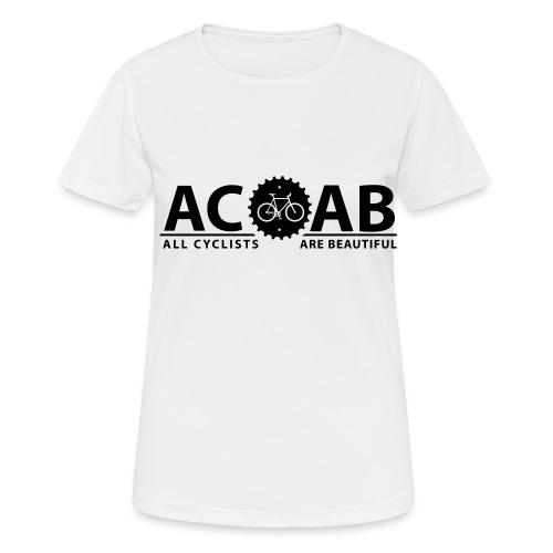 ACAB ALL CYCLISTS - Frauen T-Shirt atmungsaktiv