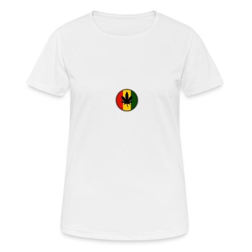weed logo - Dame T-shirt svedtransporterende