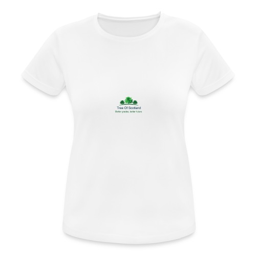TOS logo shirt - Women's Breathable T-Shirt