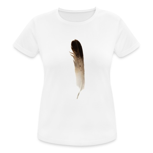Vogel Feder - Frauen T-Shirt atmungsaktiv
