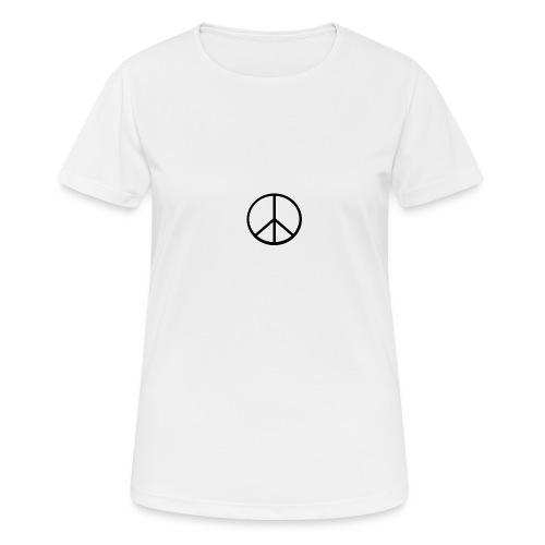 peace - Andningsaktiv T-shirt dam