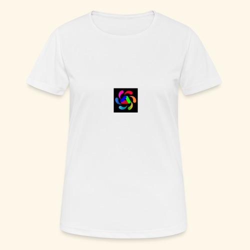 logo - Maglietta da donna traspirante