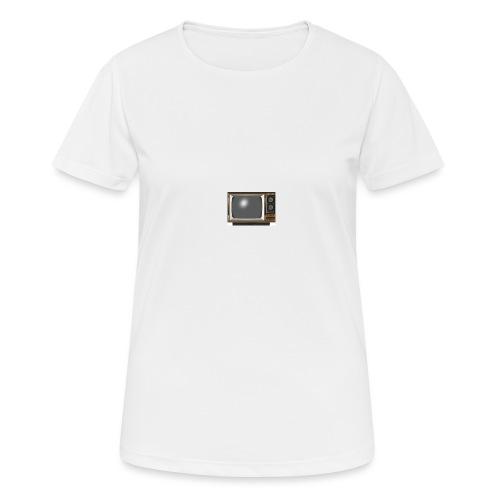 la télé - T-shirt respirant Femme