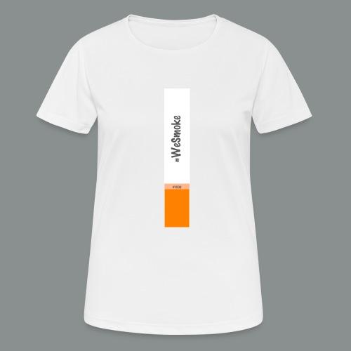 #WeSmoke - Maglietta da donna traspirante