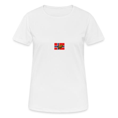 NorPot - Pustende T-skjorte for kvinner