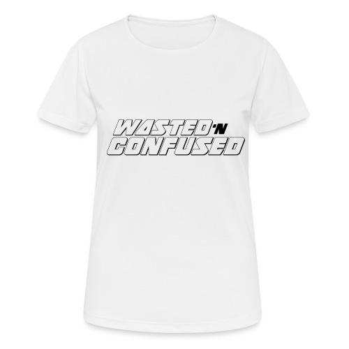 OFFICIAL WNC MERCHANDISE (wit) - Vrouwen T-shirt ademend actief