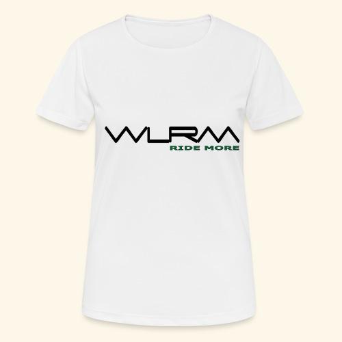 WLRM Schriftzug black png - Frauen T-Shirt atmungsaktiv