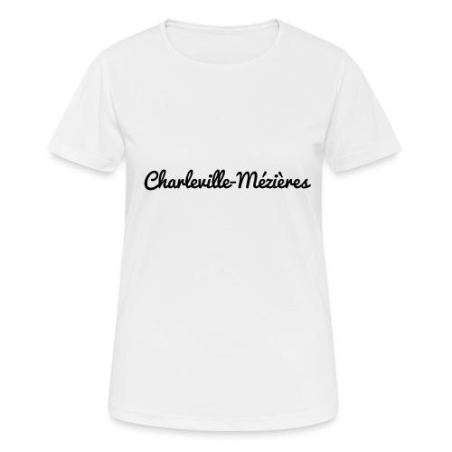 Charleville-Mézières - Marne 51 - T-shirt respirant Femme