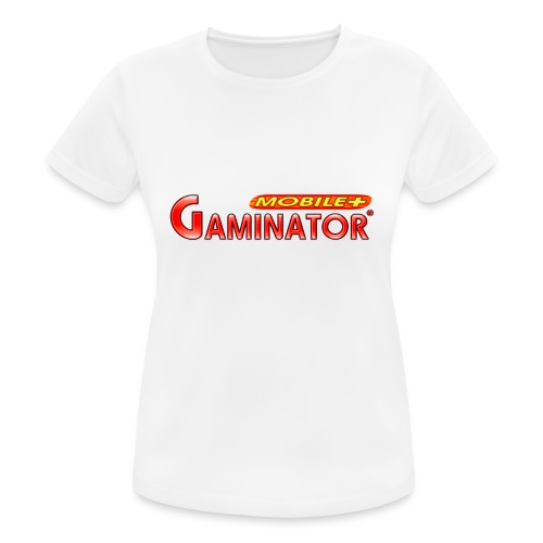 Gaminator logo - Women's Breathable T-Shirt