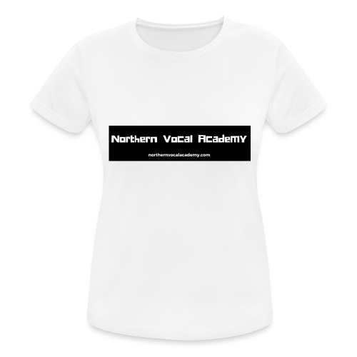 Northern Vocal Academy Logo - Women's Breathable T-Shirt