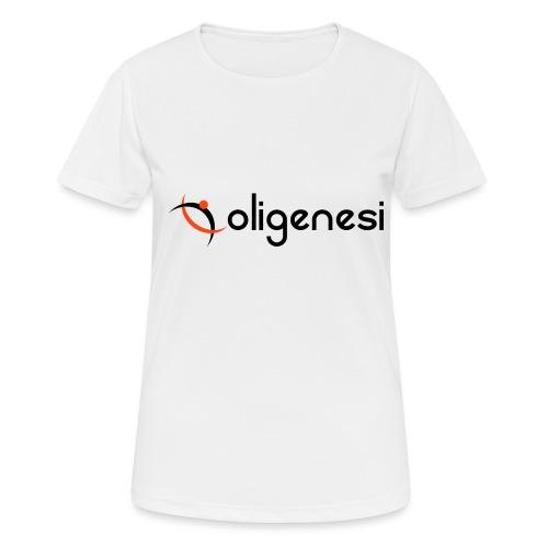 Oligenesi - Maglietta da donna traspirante