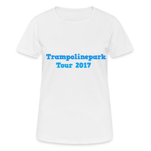 Trampolinepark Tour 2017 - Vrouwen T-shirt ademend actief
